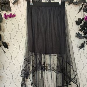 Dresses & Skirts - Black gothic lace skirt